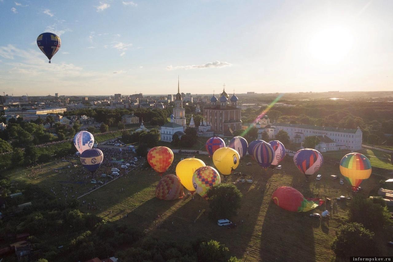 Фото Федерации воздухоплавательного спорта Рязанской области