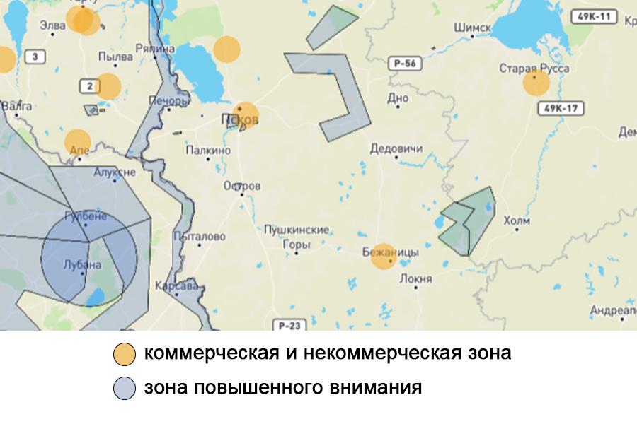 Карта предоставлена PilotHub