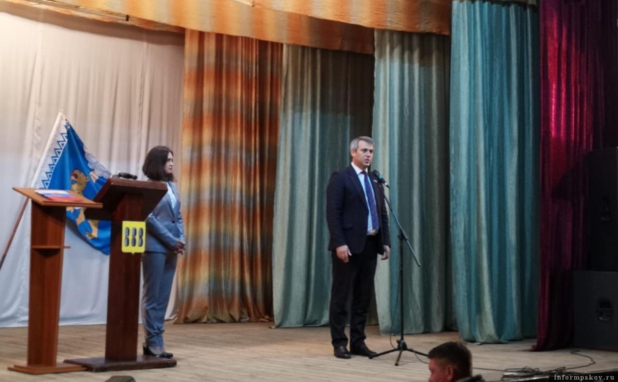 Софья Пугачёва официально вступила в должность главы Новоржевского района