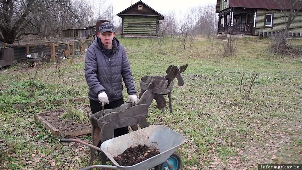Фото: стоп-кадр с YouTube-канала «Деревенский блокнот».