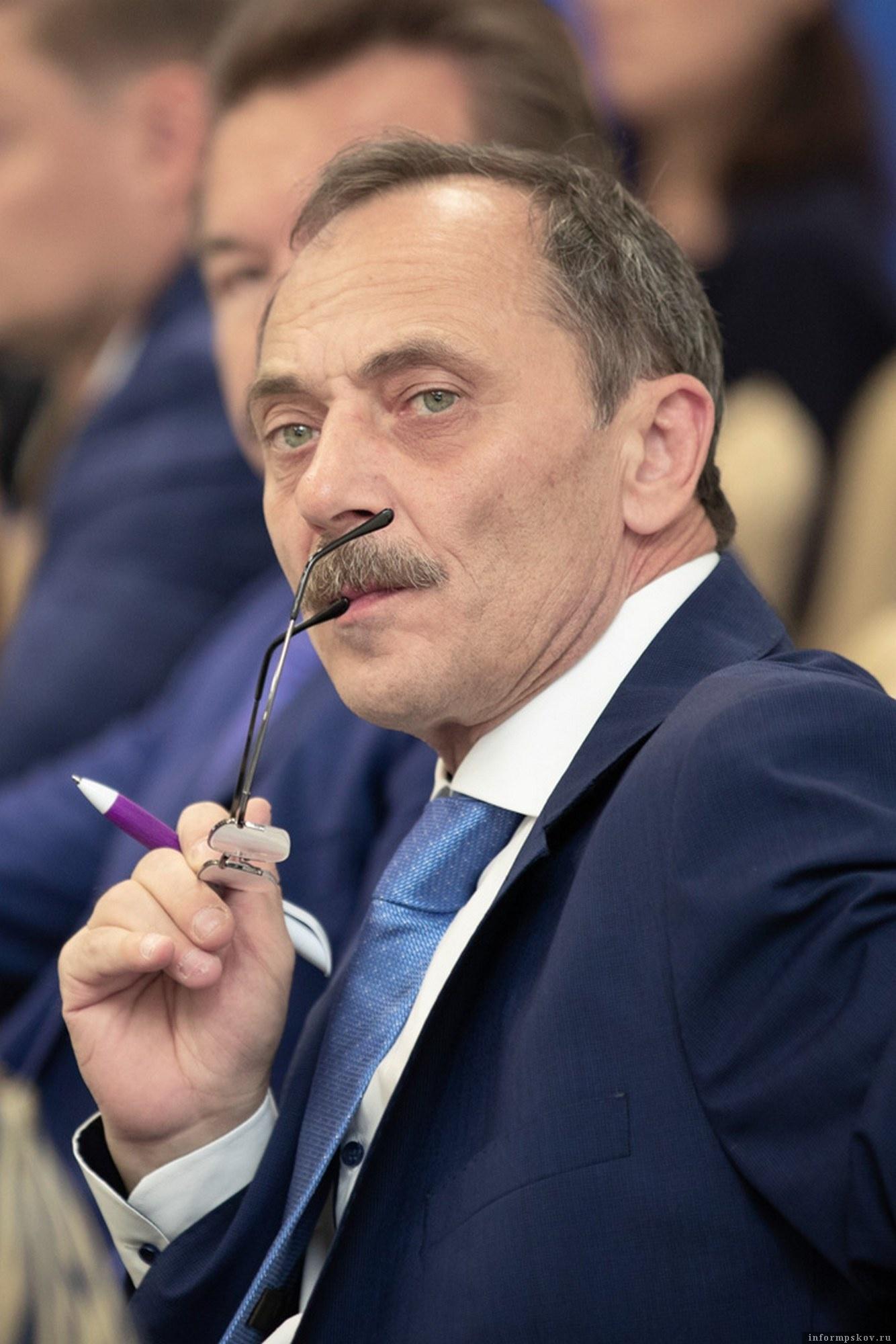 Герман Петрушко - директор завода «Титан-Полимер» в Пскове. Фото: пресс-служба предприятия.