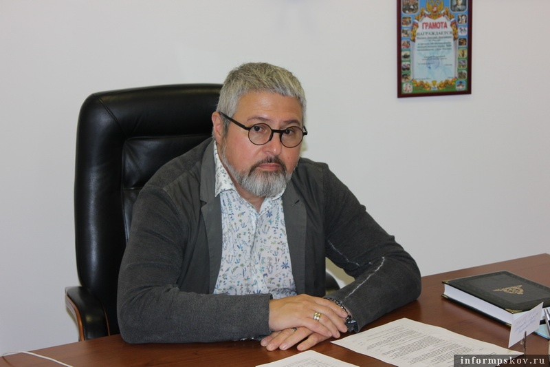 Дмитрий Месхиев. Фото Театрально-концертной дирекции Псковской области