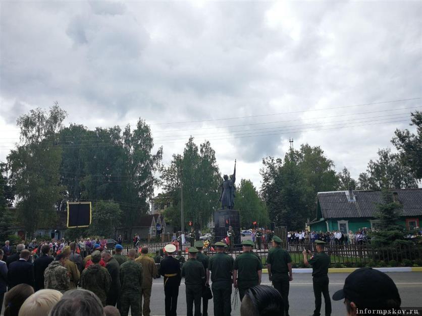 Большой памятник в честь знамени Победы появится на въезде в Идрицу