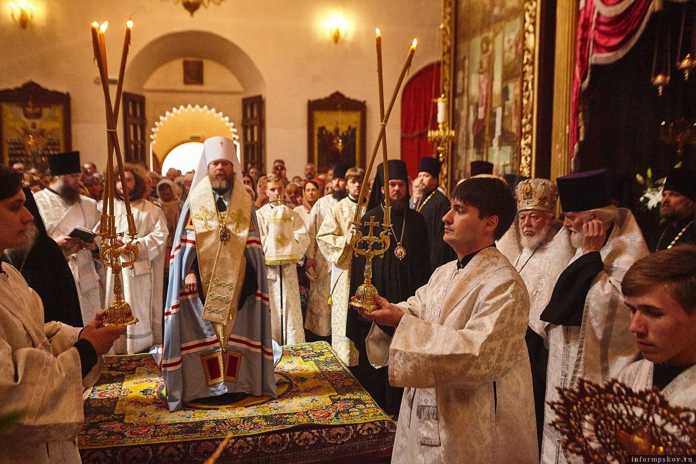 Фото из группы «Подворье Псково-Печерского монастыря в Пскове» в социальной сети «ВКонтакте»