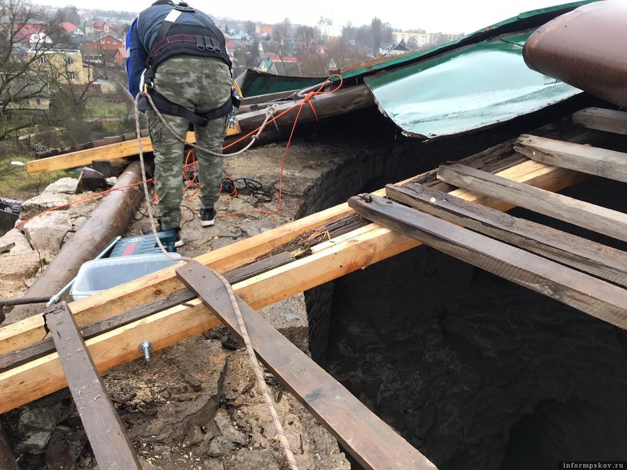 Здесь и далее фотографии комитета по охране объектов культурного наследия Псковской области