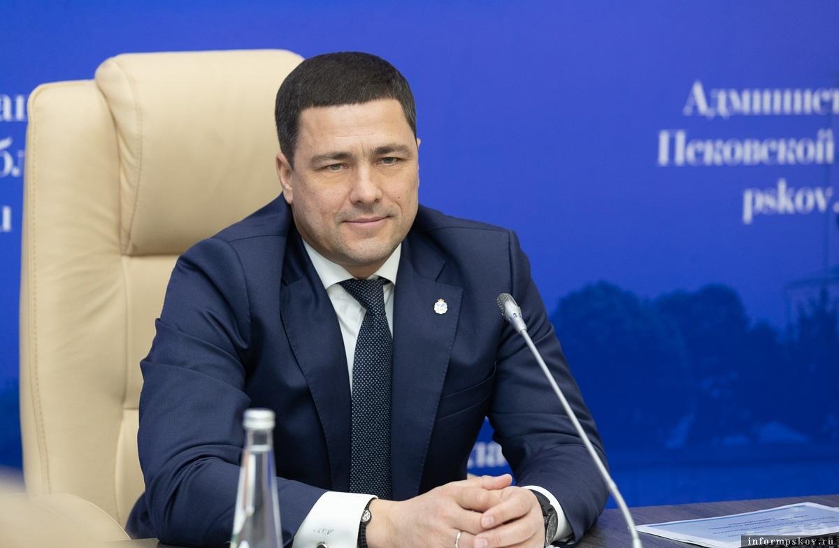 Псковский губернатор поддержал идею создания отделения Российского исторического общества в Пскове.