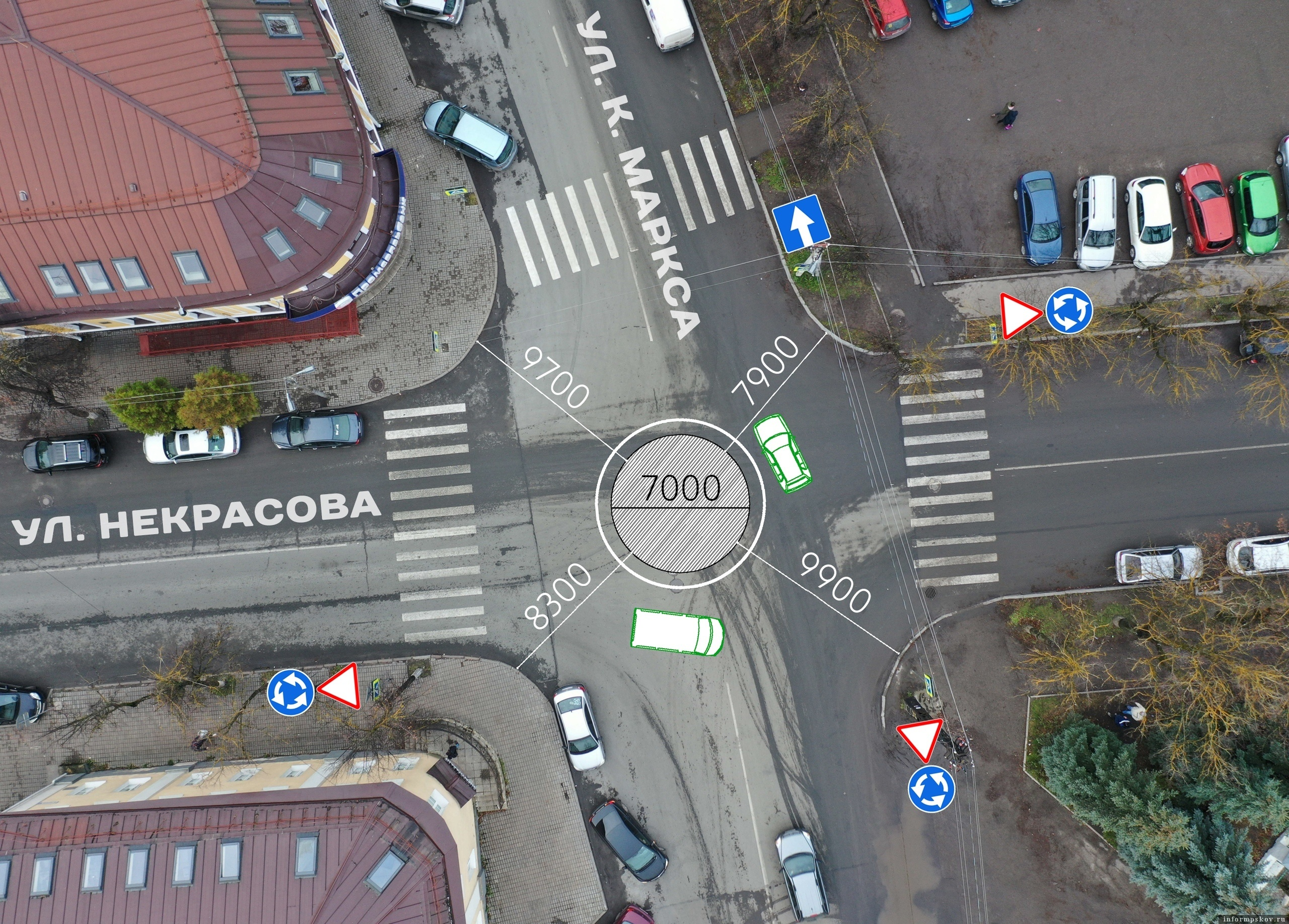 Фото из группы «Убитые дороги Псков» в социальной сети в «ВКонтакте».