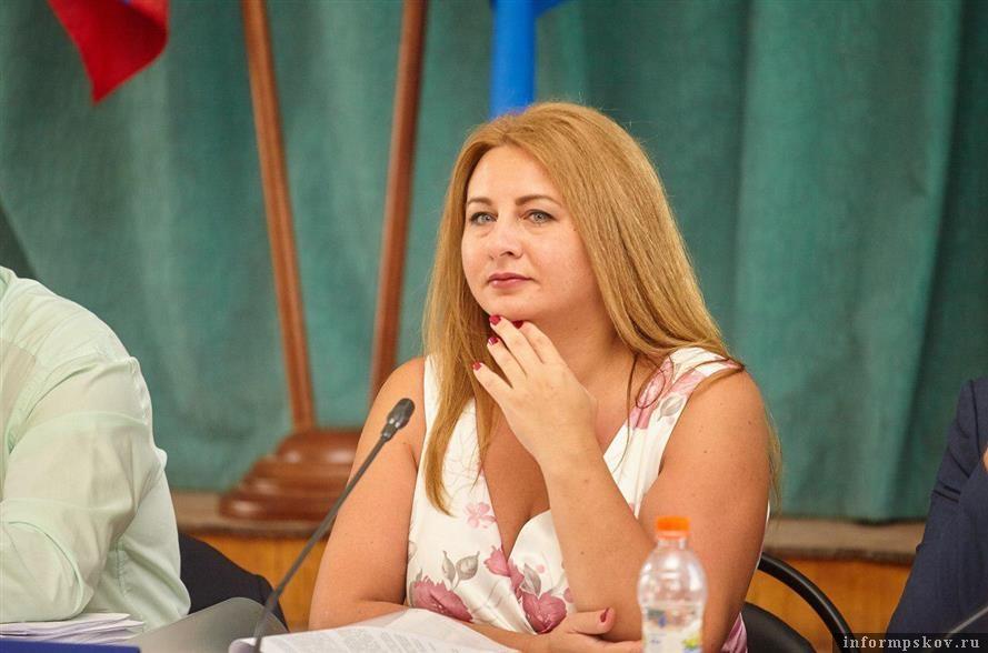Елена Полонская. Фото Дарьи Хватковой
