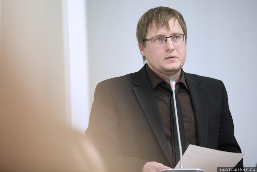 Валерий Кузьмин. Фото пресс-службы Псковского областного Собрания