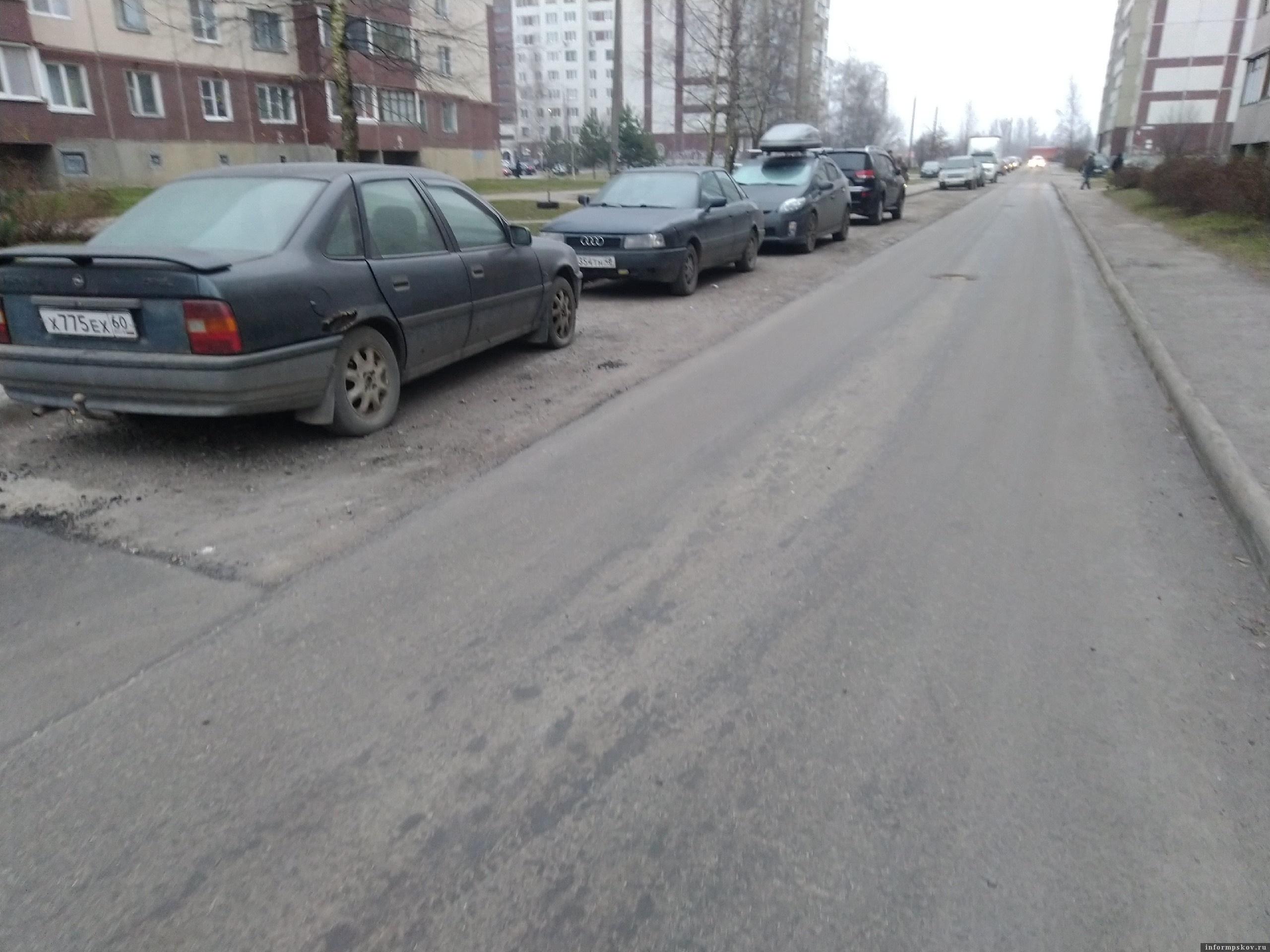 """Фото из группы """"ВКонтакте"""" """"Убитые дороги Пскова"""""""