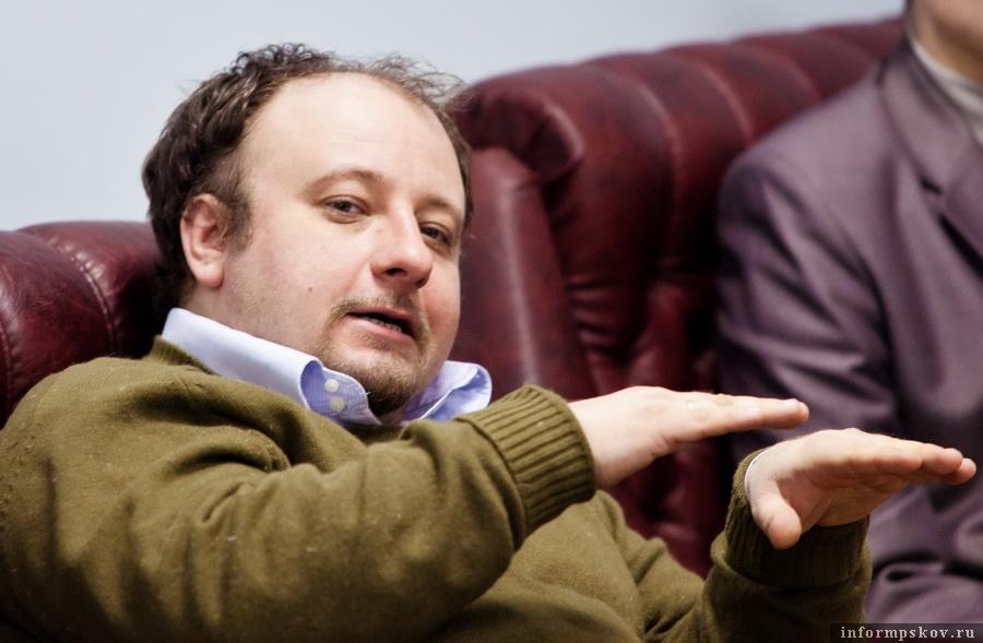 Алексей Вовин. Фото с сайта sanktpeterburg.bezformata.com