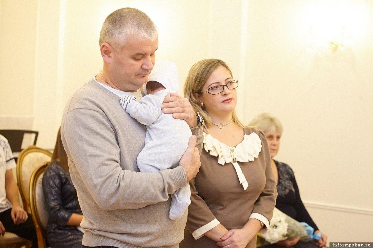 регистрация 2000-го ребенка в Пскове прошло в торжественной обстановке. Фото: Дарья Хваткова.