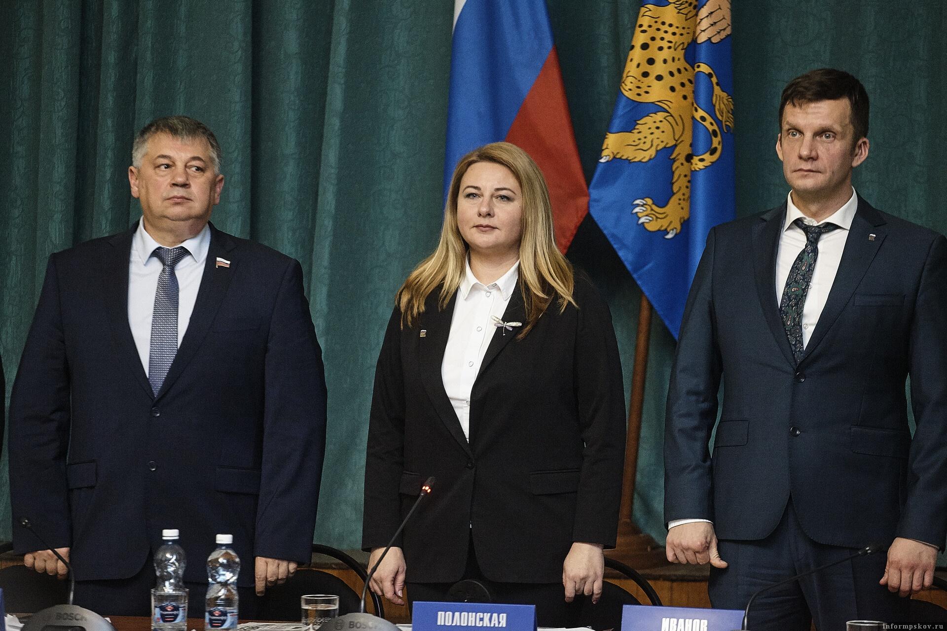 Псков впервые возглавила женщина.