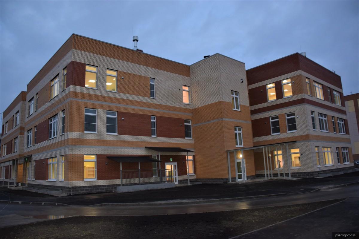 Новый детский сад №5 на улице Звездной в Пскове. Фото пресс-службы администрации Пскова