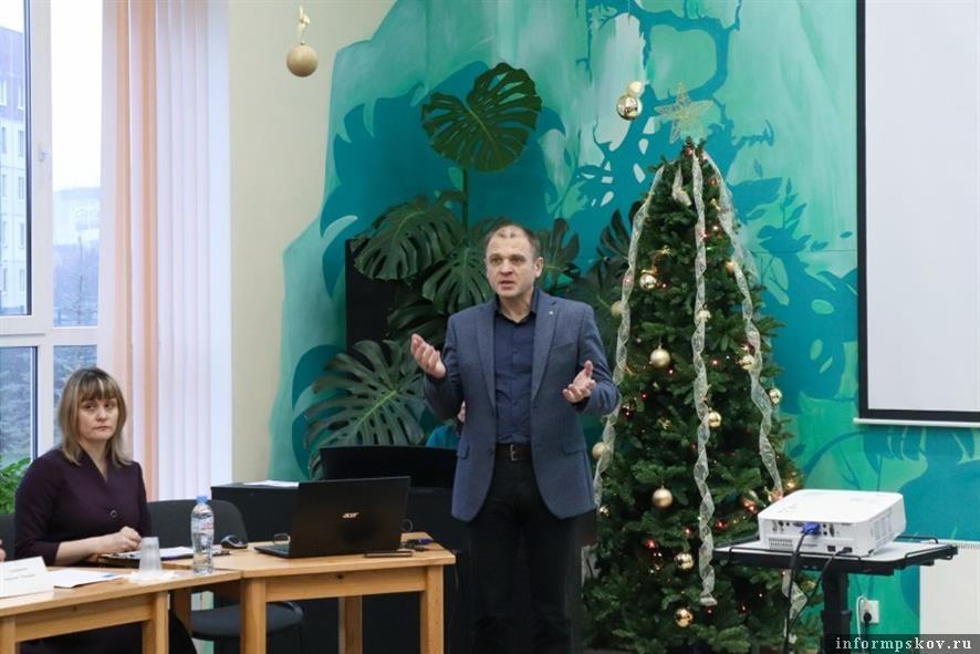 Руководитель Детской деревни-SOS в Пскове. Фото Анастасии Васильевой