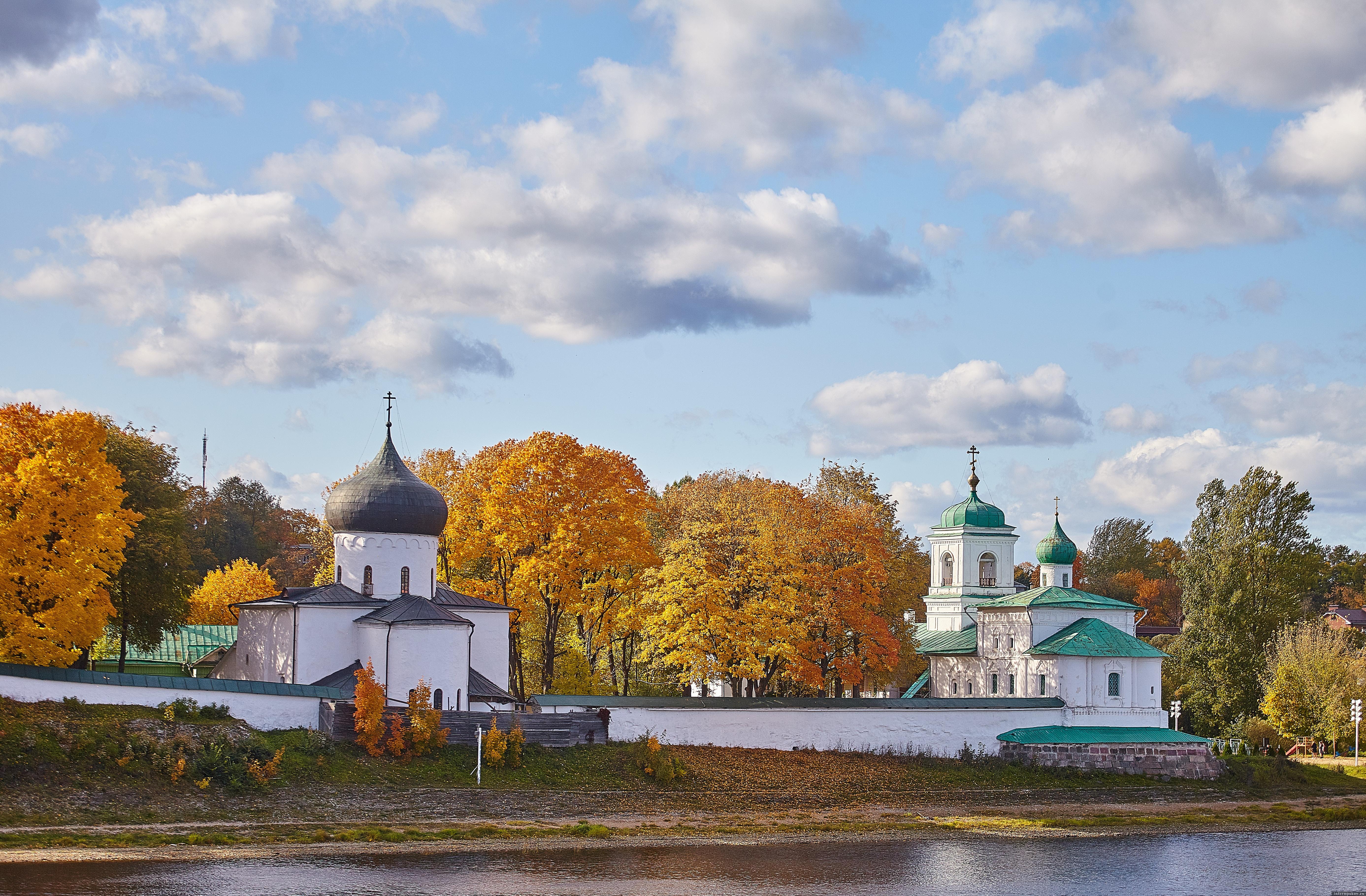 Мирожский монастырь в Пскове. Фото: Дарья Хваткова
