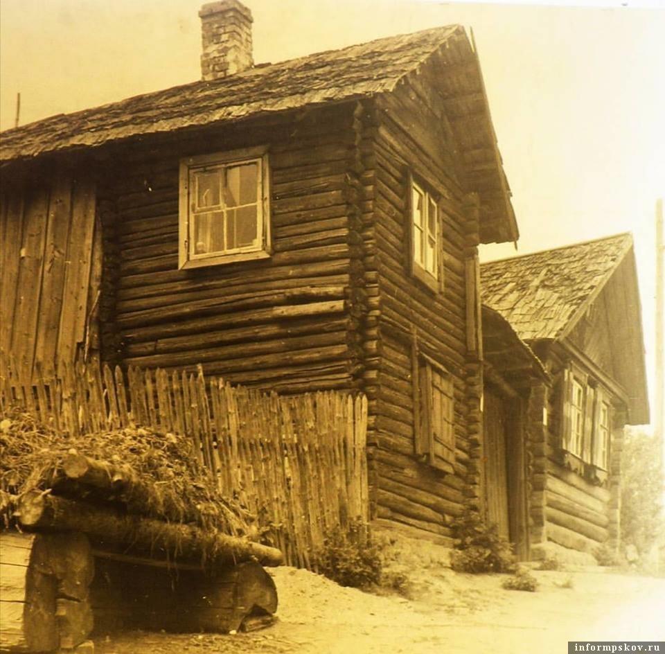 Стрелецкий домик в Печорах в 1941-44 гг. Eesti Rahva Muuseum.