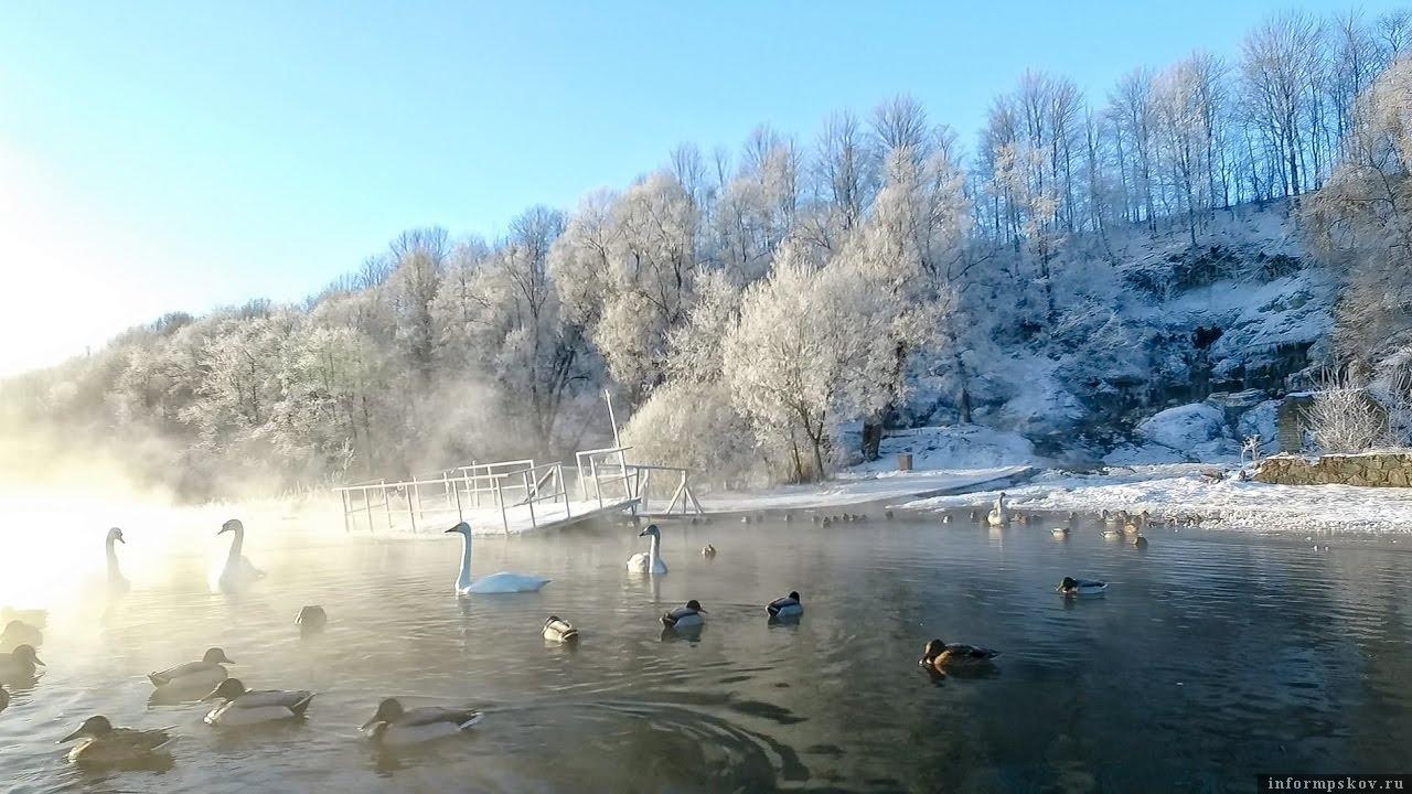 Городищенское озеро в Изборске. Фото с сайта culture.ru