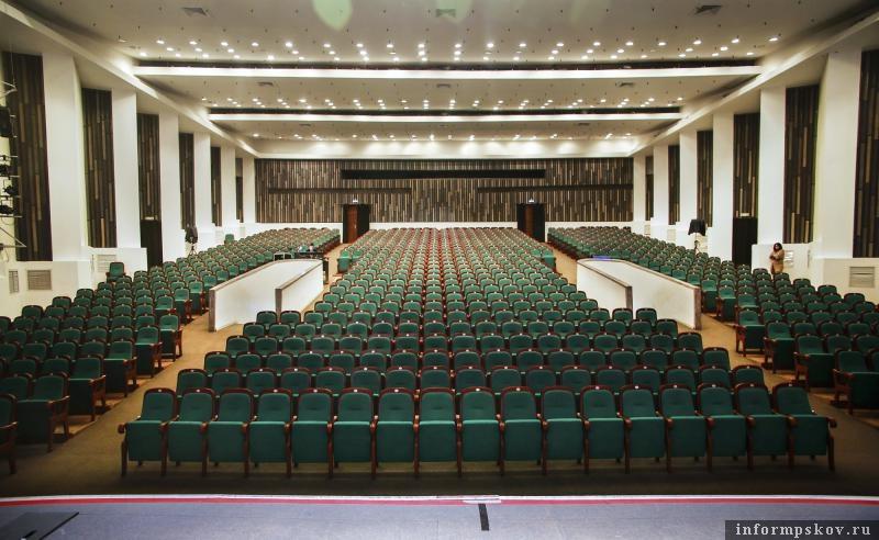 БКЗ Псковской областной филармонии. Фото с официального сайта