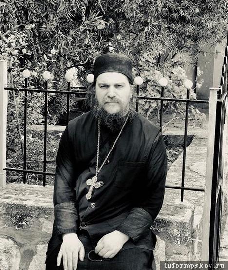 "Отец Василий. Фото из ""Инстаграма"" Андрея Турчака"