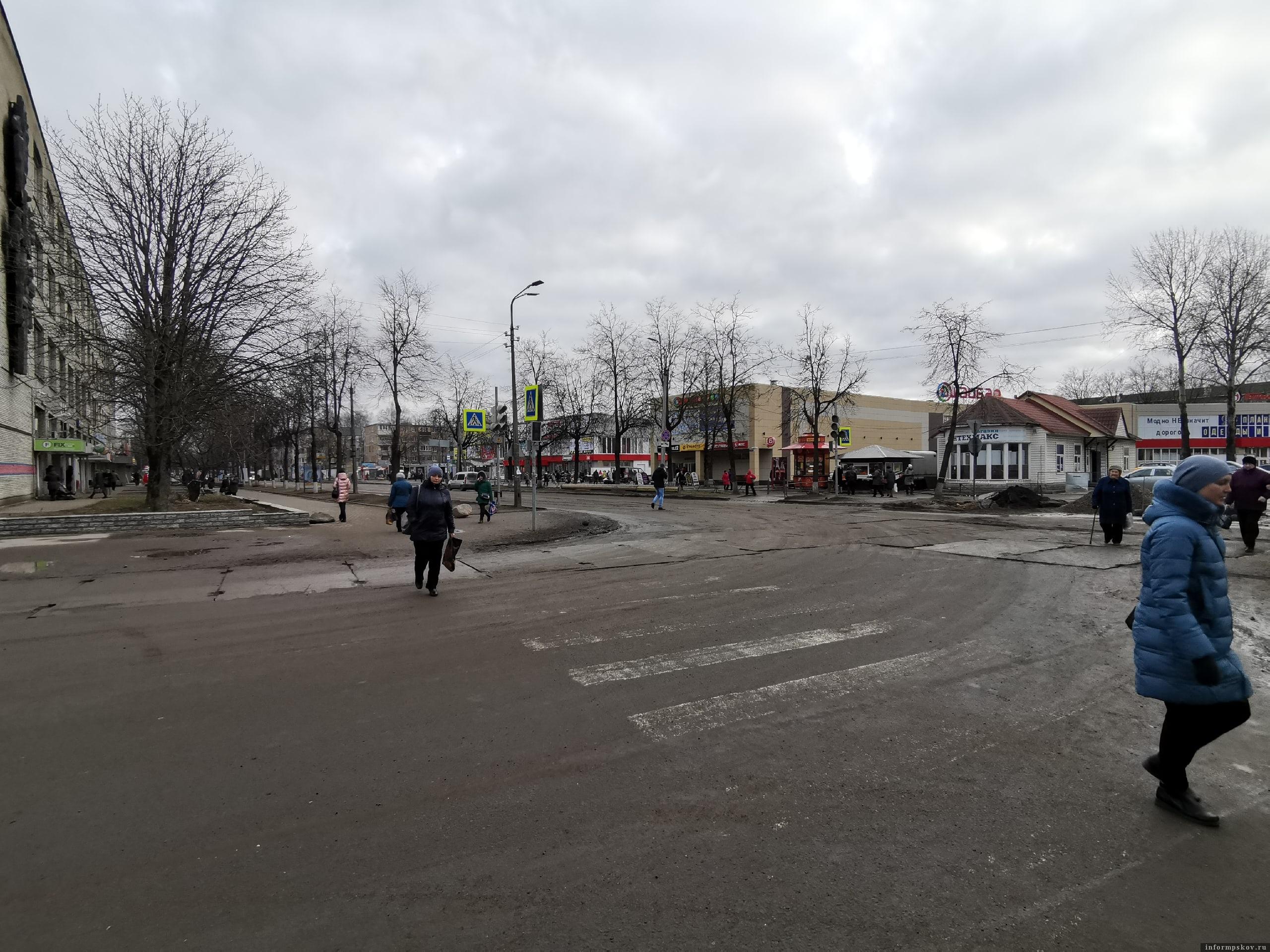 Фото: Убитые дороги Псков