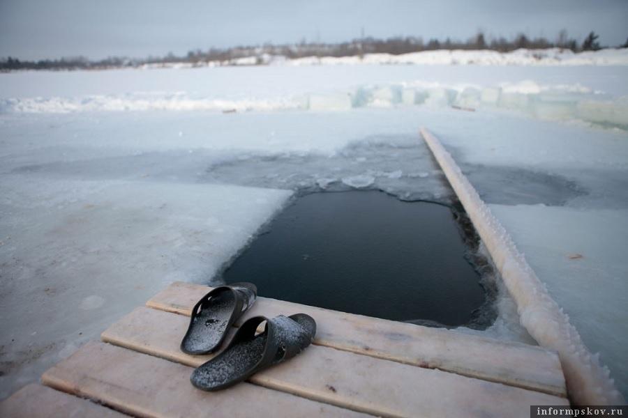 Морозно было в тот год в Пскове. Фото Андрей Степанов.