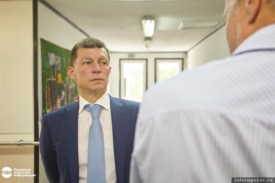 Максим Топилин, Псков. Фото Дарьи Хватковой