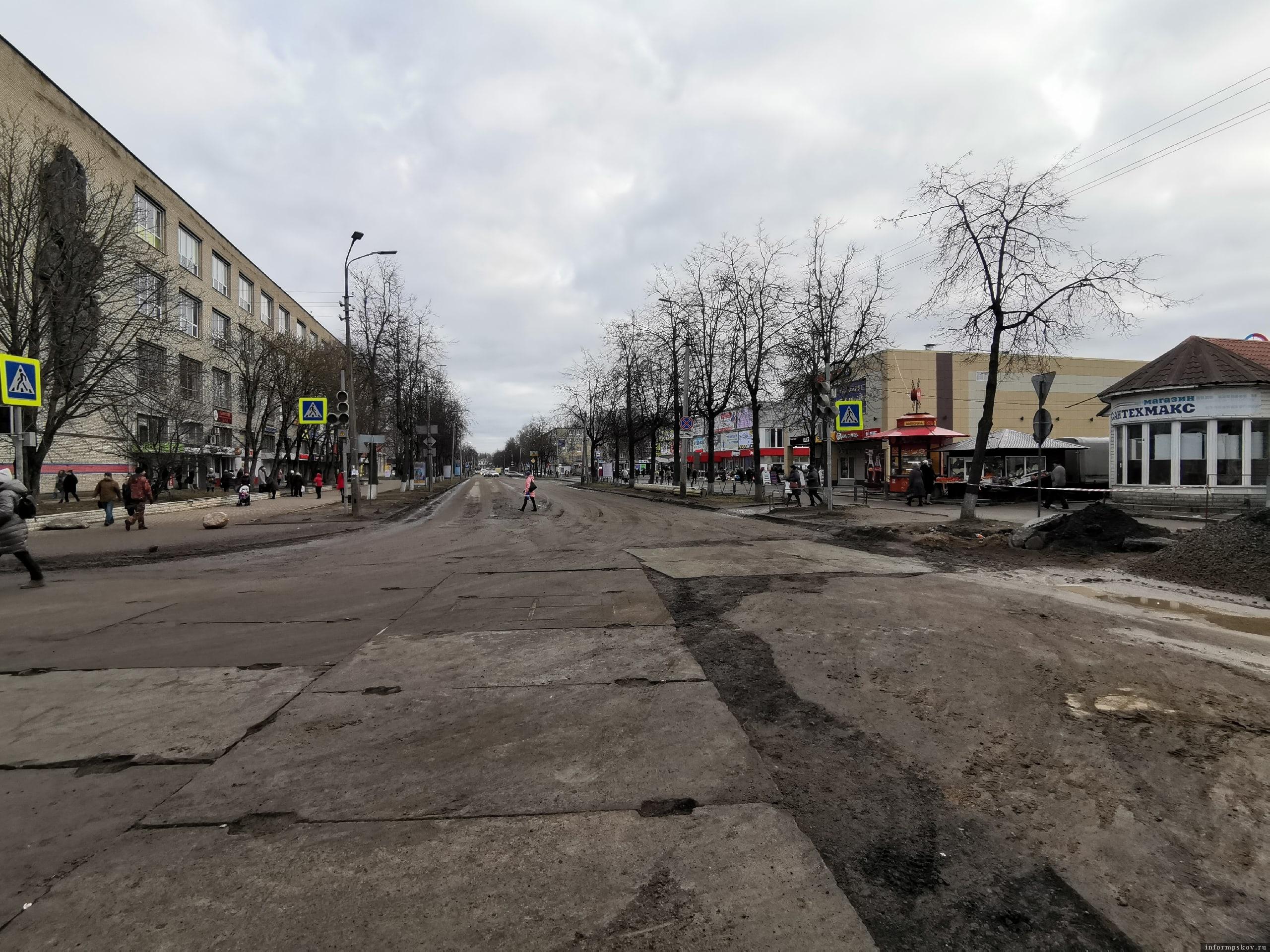 Фото: Убитые дороги Пскова