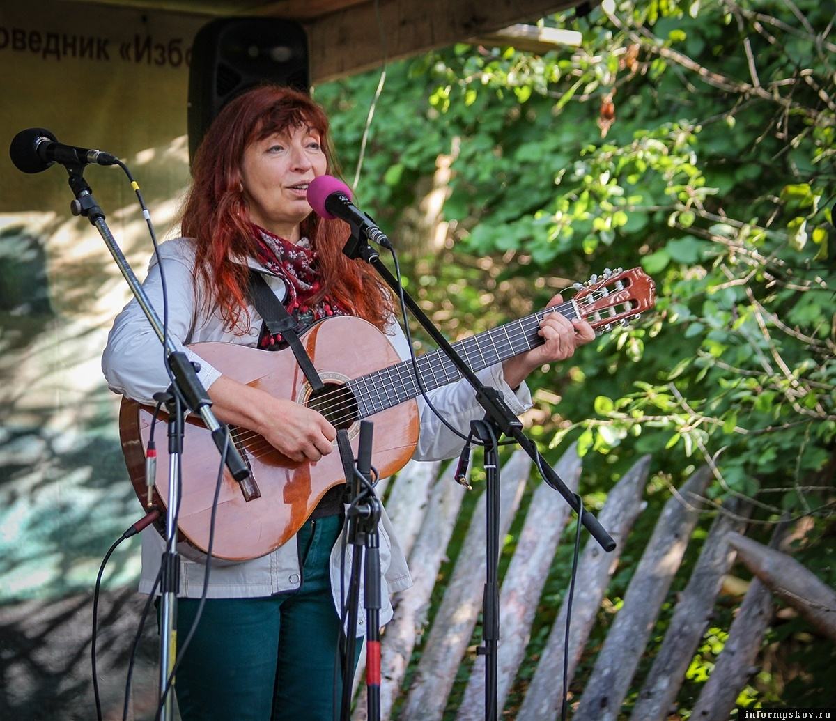 VI фестиваль авторской песни и поэзии «Изборская крепость». Автор фото: Анатолий Шумилин