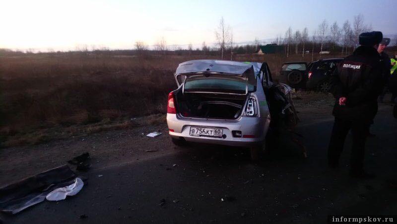 ДТП в Псковском районе унесло 4 жизни.