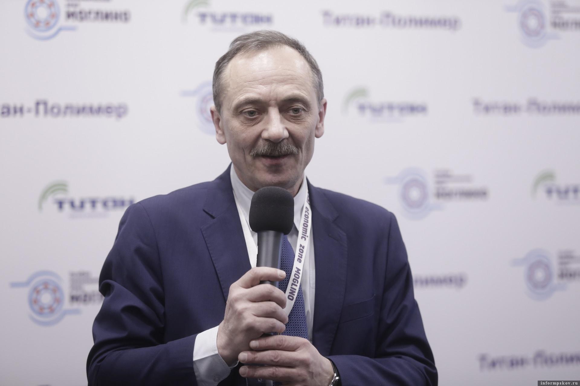 Генеральный директор ООО «Титан-Полимер» Герман Петрушко