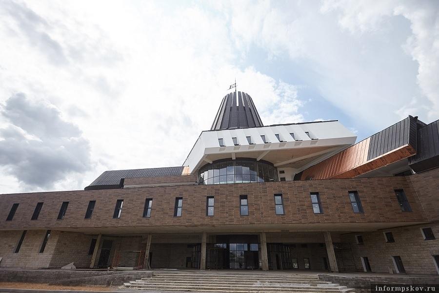Кампус Псковского государственного университета. Фото: Дарья Хваткова.