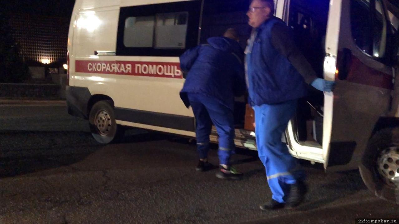 "ДТП на Рижском проспекте произошло в районе кафе ""Березка"" Фото: ПАИ."