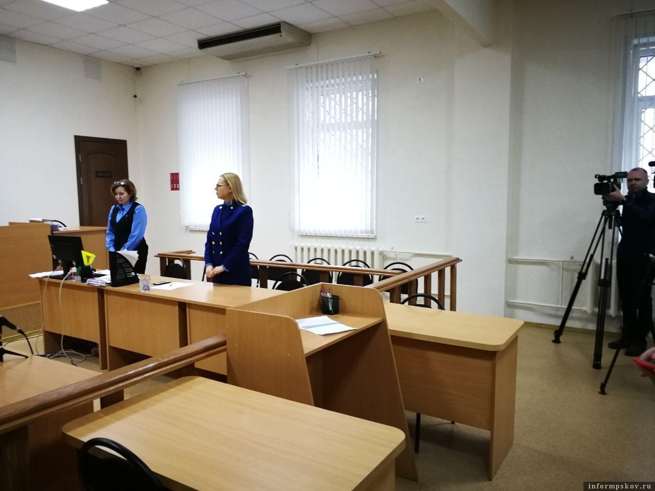 Оглашен приговор экс-заместителю губернатора Псковской области. Фото здесь и далее Михаил Синев и Дарья Хваткова