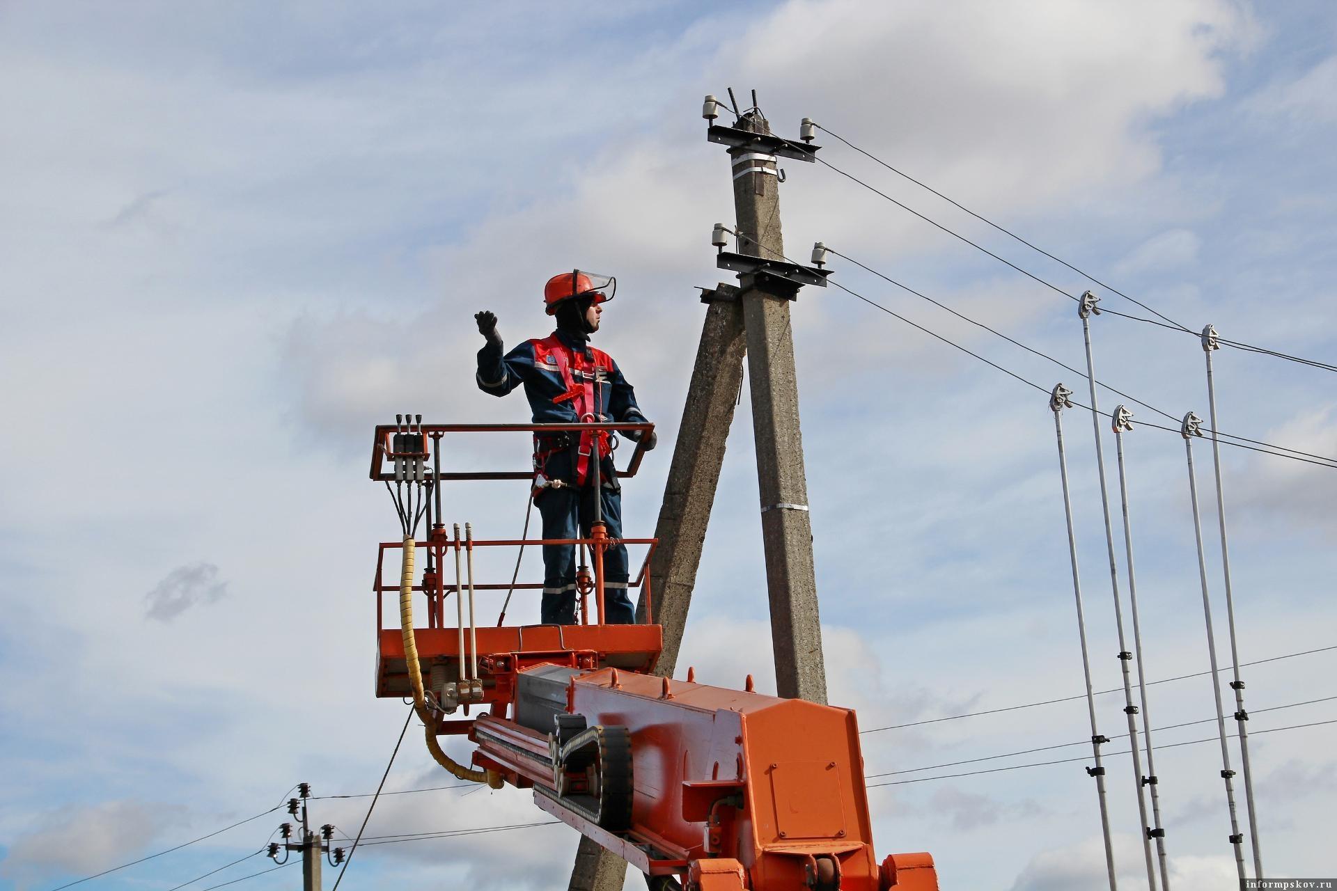 Циклон «Дэннис» не нанес серьезного ущерба электросетям в Псковской области. Фото: Псковский филиал компании «Россети Северо-Запад».
