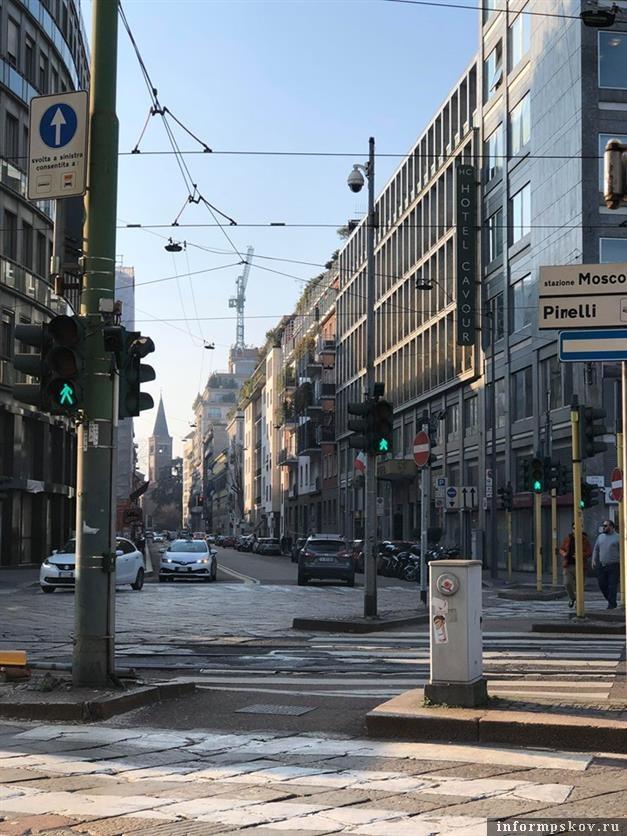 Милан, Италия. Фото Александры Сырчиной