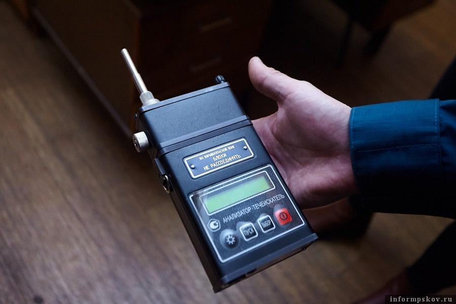Сверхчувствительный полевой анализатор-течеискатель