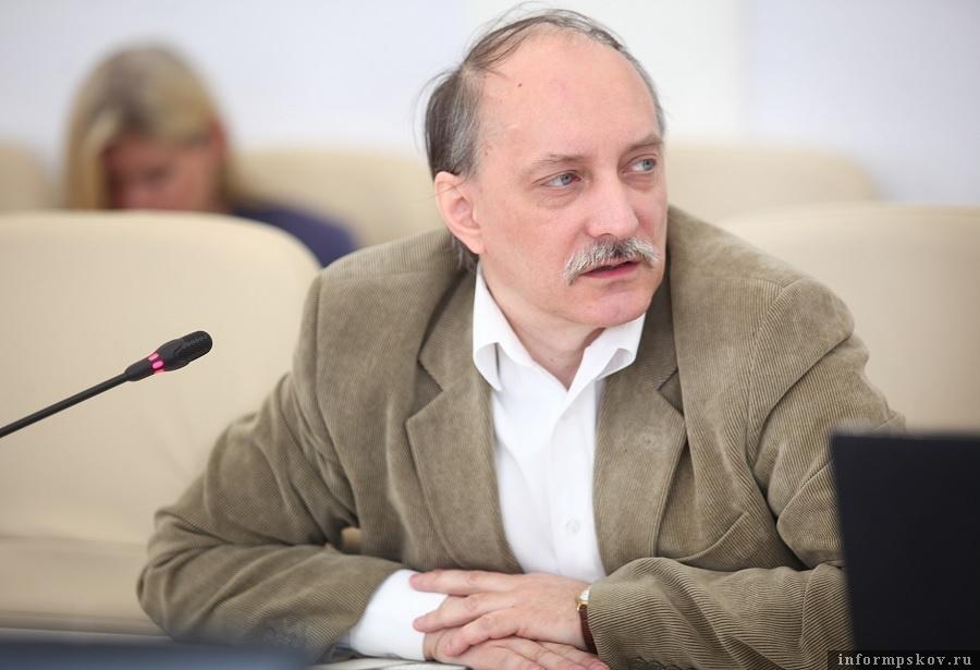Дмитрий Шахов. Фото: пресс-служба Псковского областного Собрания депутатов.