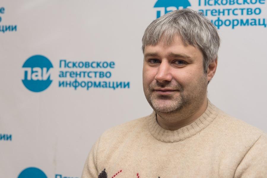 Председатель ассоциации ТОС Псковской области Алексей Кириллов. Фото: Дарья Хваткова.