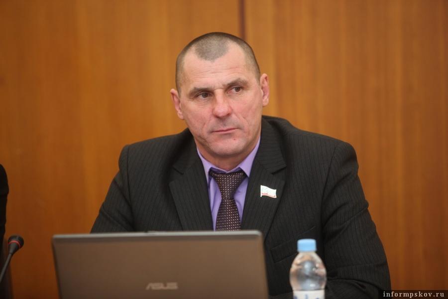Вадим Афанасьев. Фото пресс-службы Псковского областного Собрания