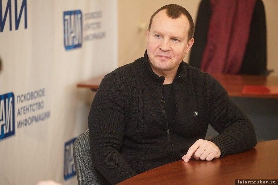 Олег Брячак. Фото Дарьи Хватковой