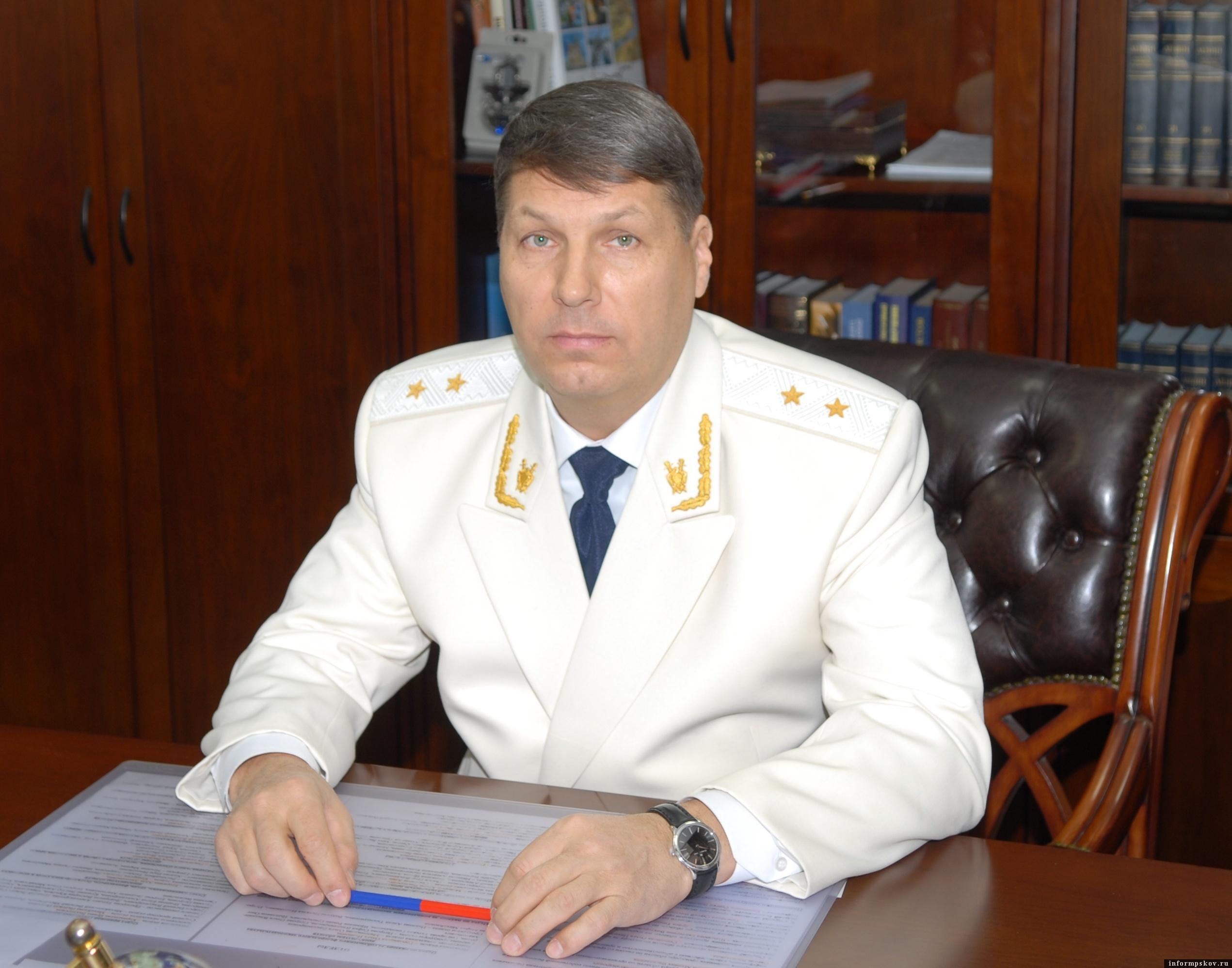 Сергей Белов. Фото пресс-службы прокуратуры Псковской области