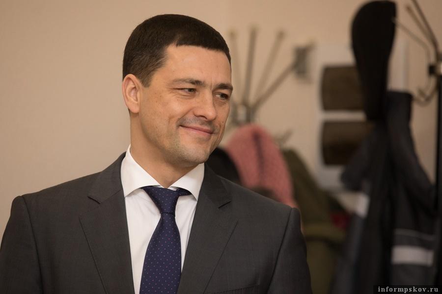 Михаил Ведерников. Фото: пресс-служба администрации Псковской области.