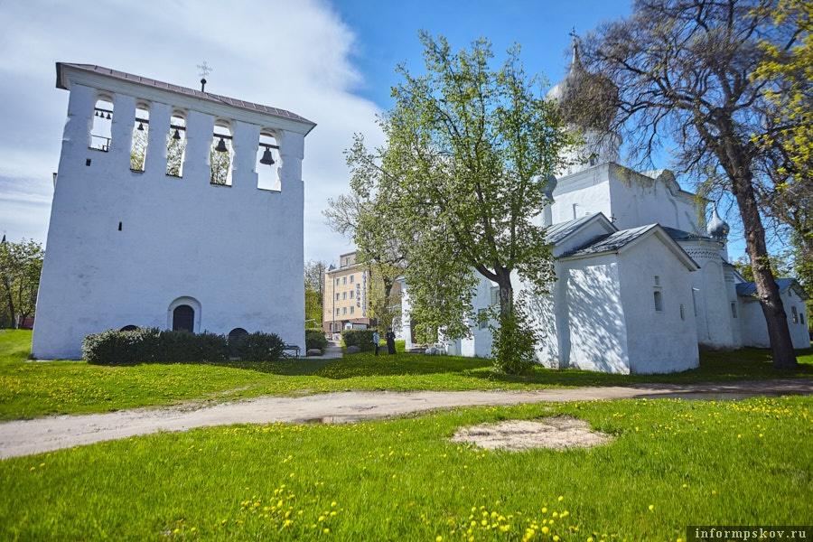 Церковь Успения Пресвятой Богородицы с Пароменья. Здесь и далее фото Дарьи Хватковой