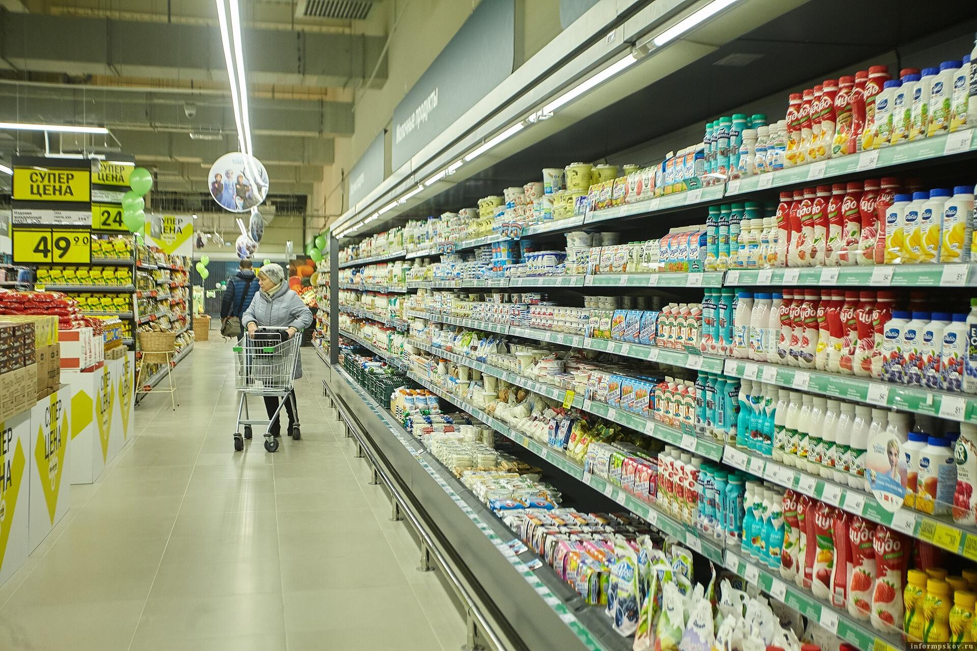 Вся продукция была направлена на предприятия и поступит на прилавки магазинов. Фото: Дарья Хваткова.