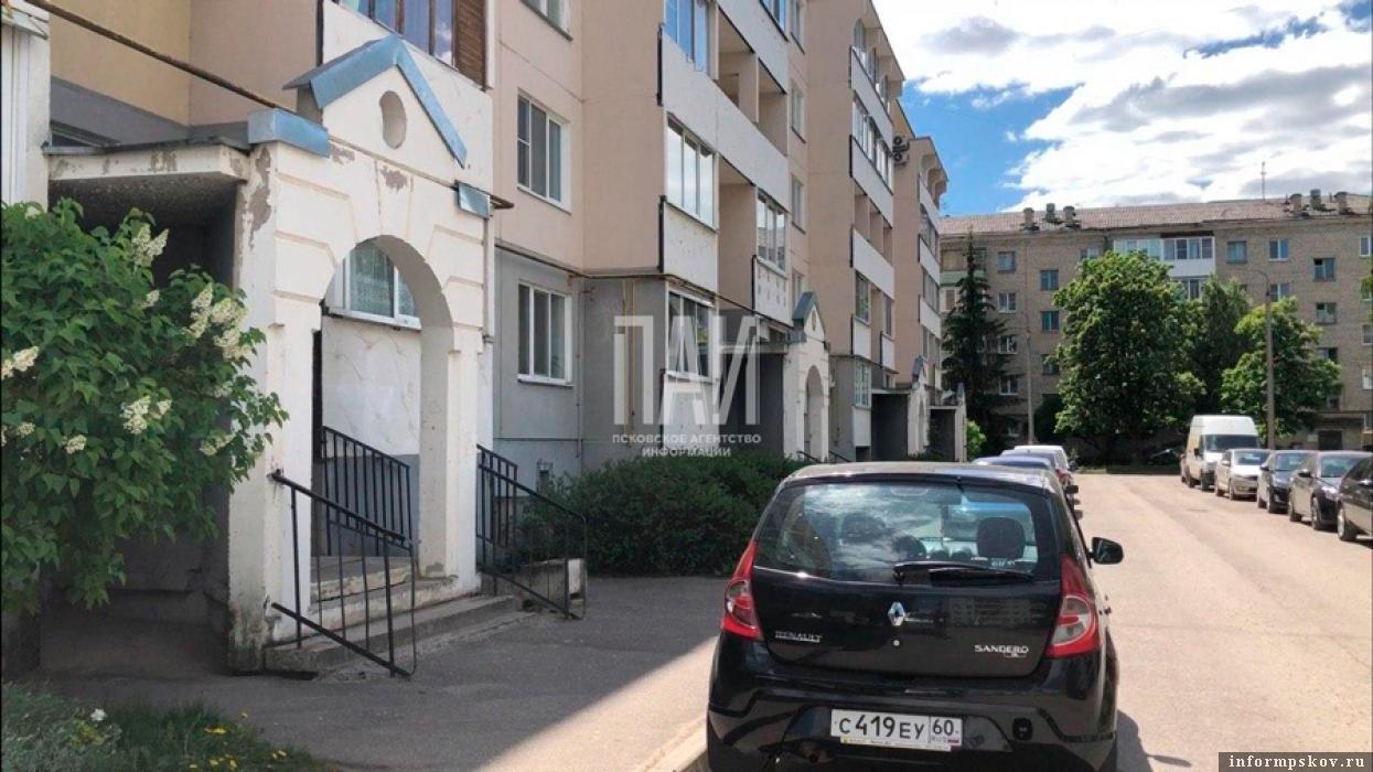 Дом №16а на улице Труда в Пскове. Фото ПАИ
