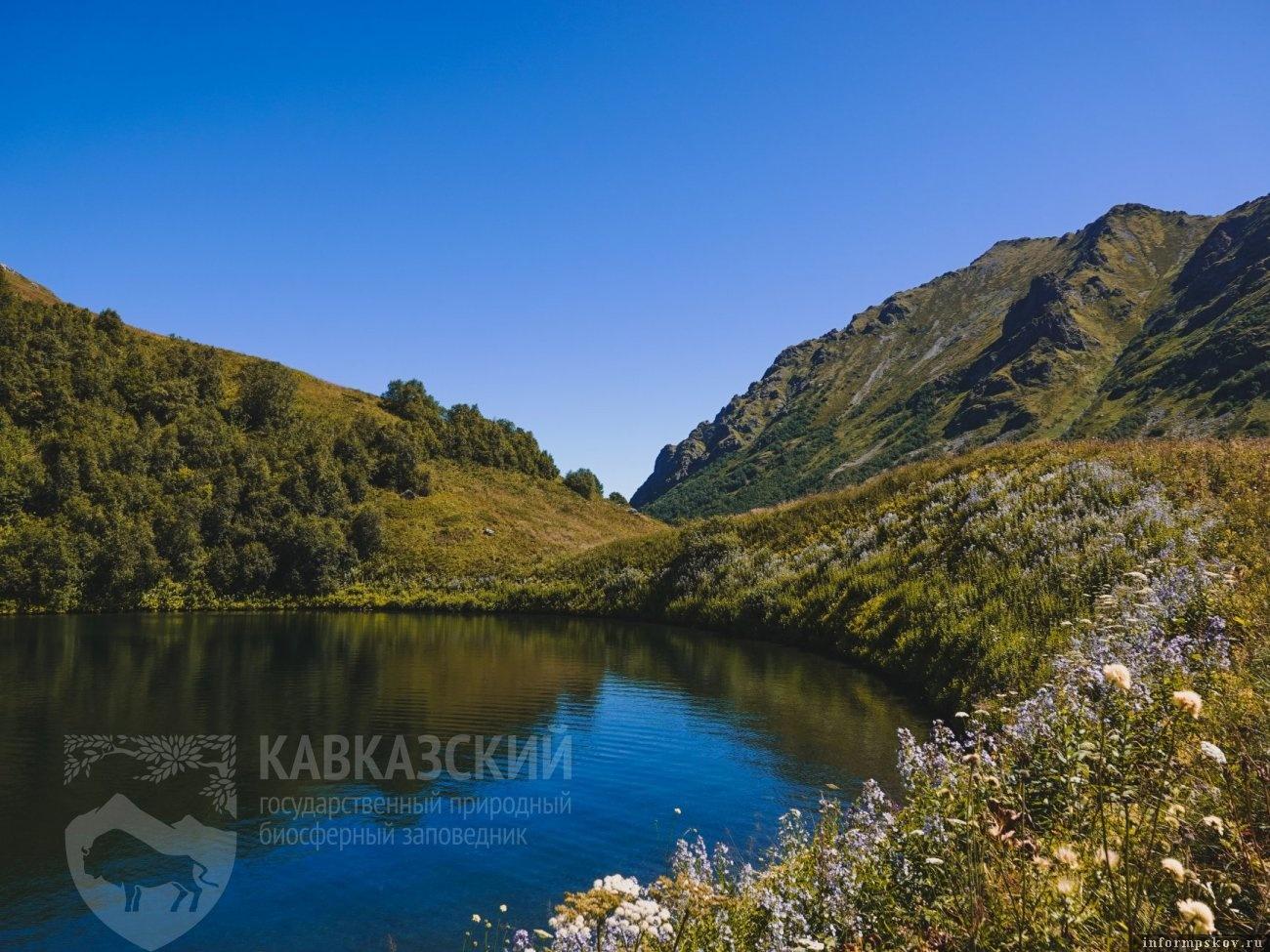 Ранее водоем выглядел так. Фото: Кавказский государственный природный биосферный заповедник имени Х.Г.Шапошникова.