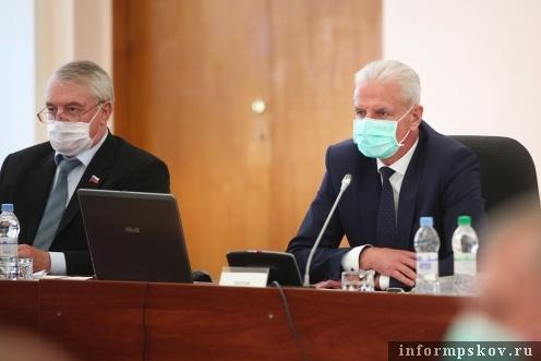 В Пскове проходит 46-я сессия Псковского областного Собрания депутатов. Фото ПОСД.