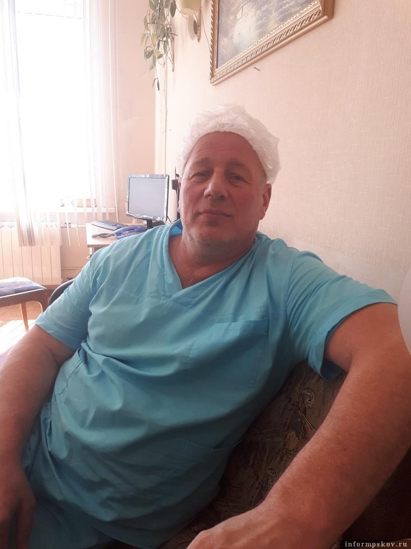 На фото: Алексей Поднебесный.