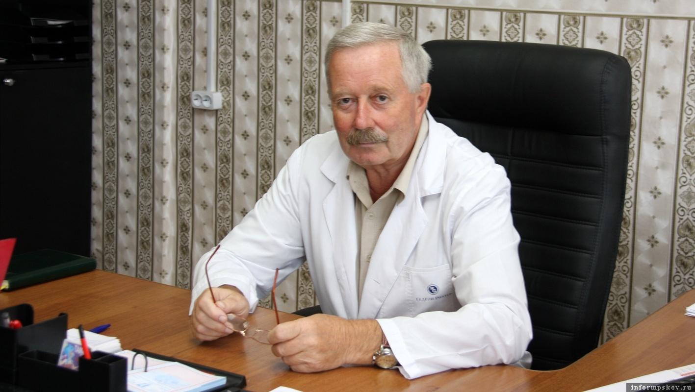 Анатолий Юнг. Фото районной газеты «Пламя»